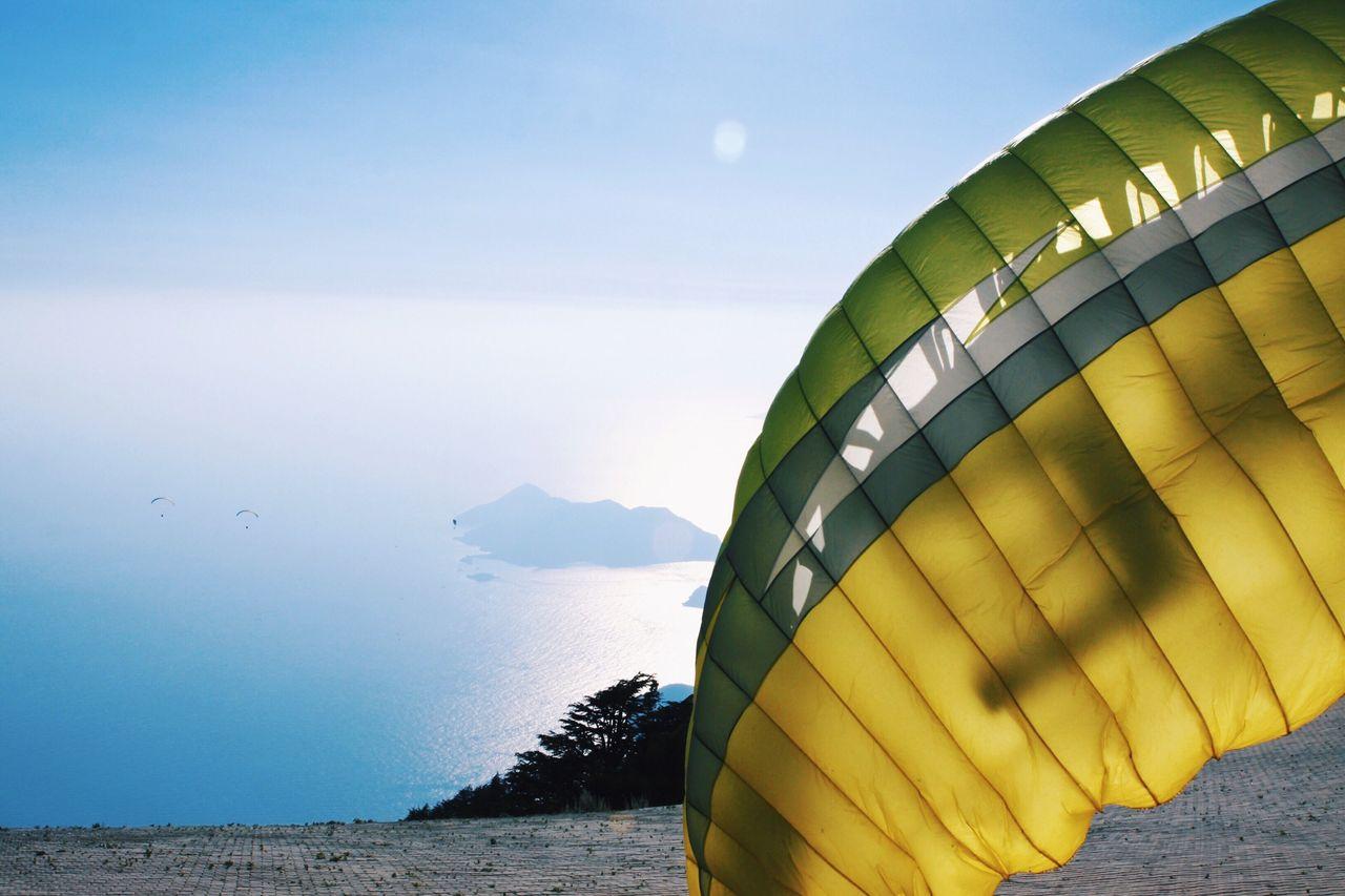 Parachute On Field
