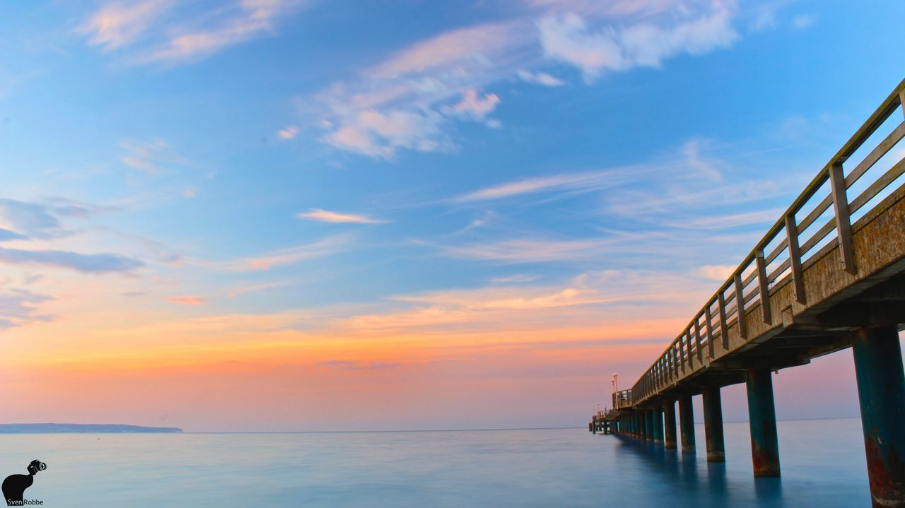 Ocean Blue Sky Pier LongTime