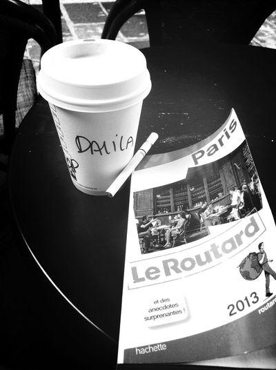 Coffee And Cigarettes Cappucino Travelling Paris