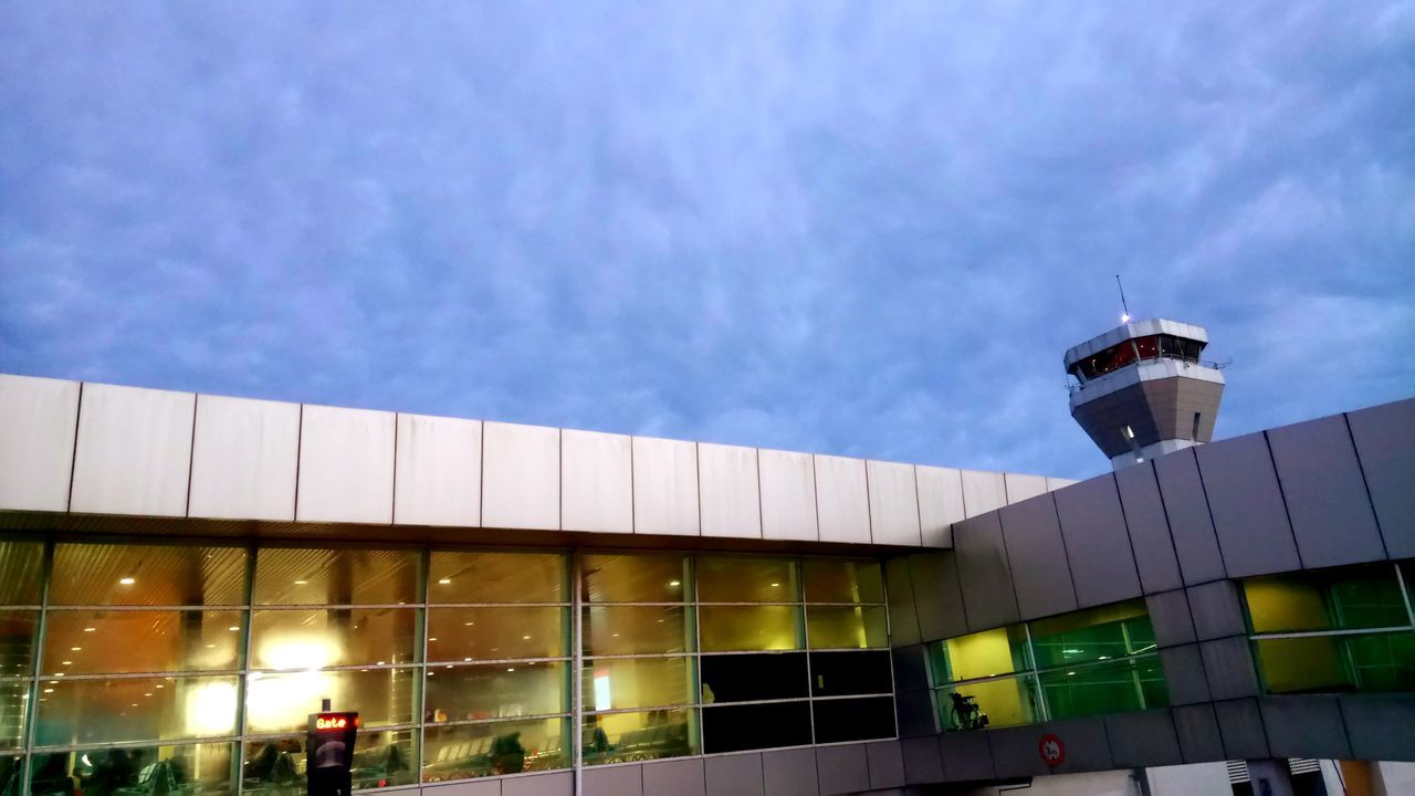 #atc #Airport Built Structure City Sky
