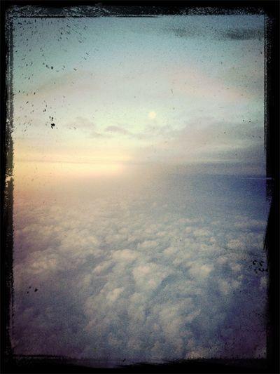 Hopeful.... From An Airplane Window