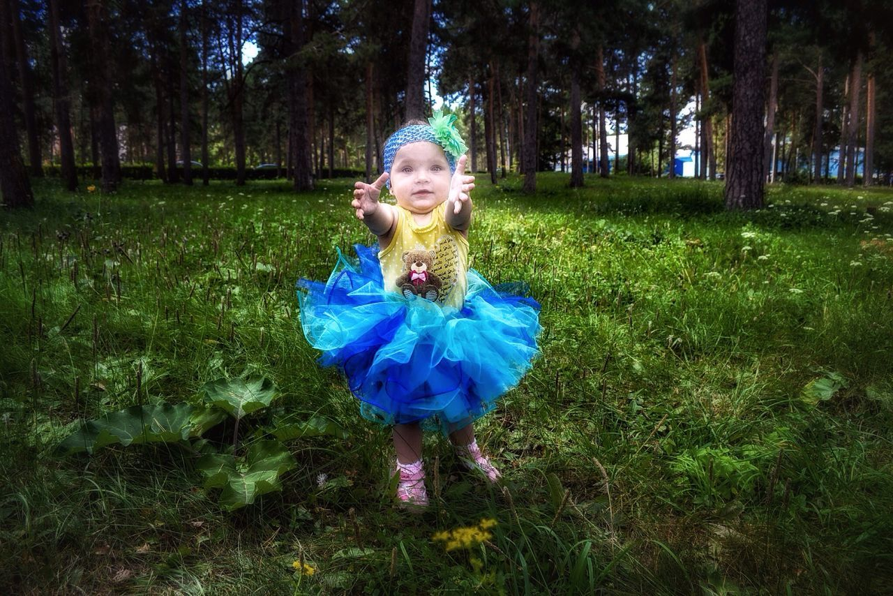 Anastasia Girl Kids Kid Park Children Child