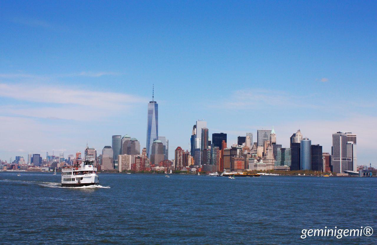 Newyorkcity Newyork America 2016 April Mydream Dreamcametrue Hudsonriver Boat Cruise Sunshine Sun Happyday Trip Holiday 🇺🇸🏙❤️
