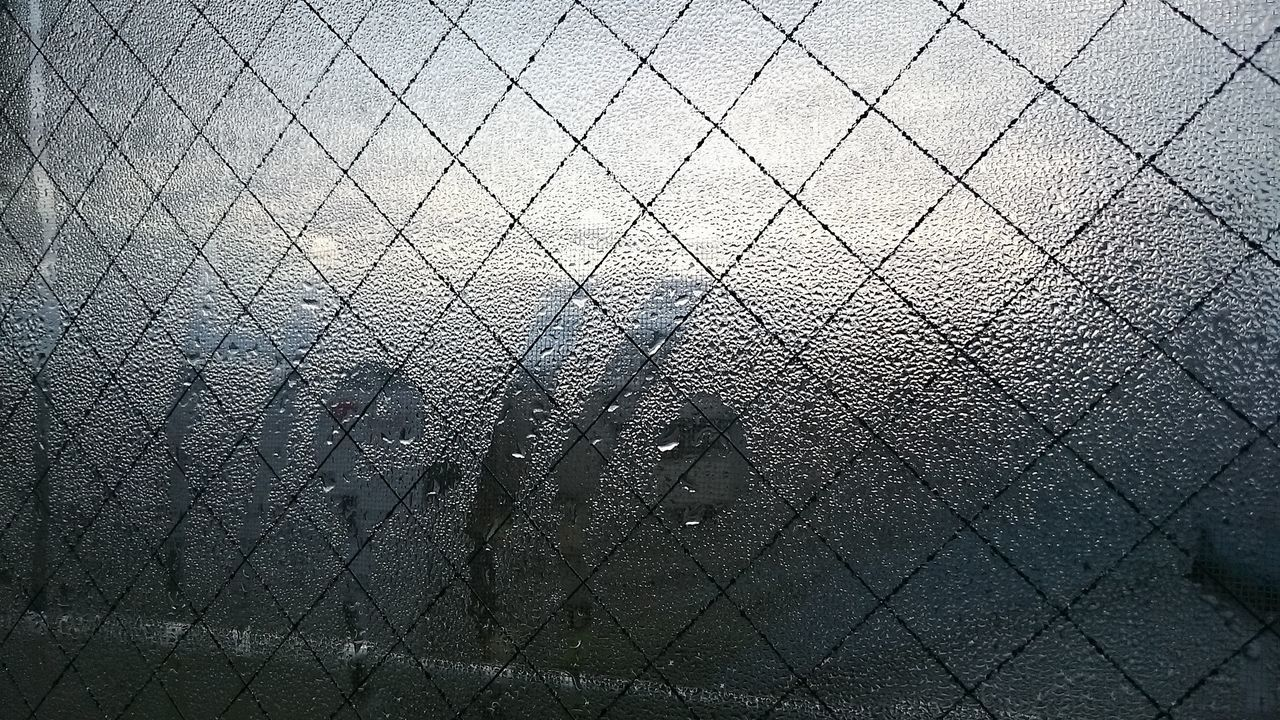 Good Morning Dew Condensation Hello!
