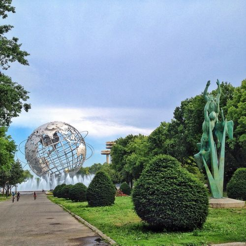 Unisphere Flushing Meadow Park Park NYC Photography NYC New York Myview My View Metalsculpture Earth
