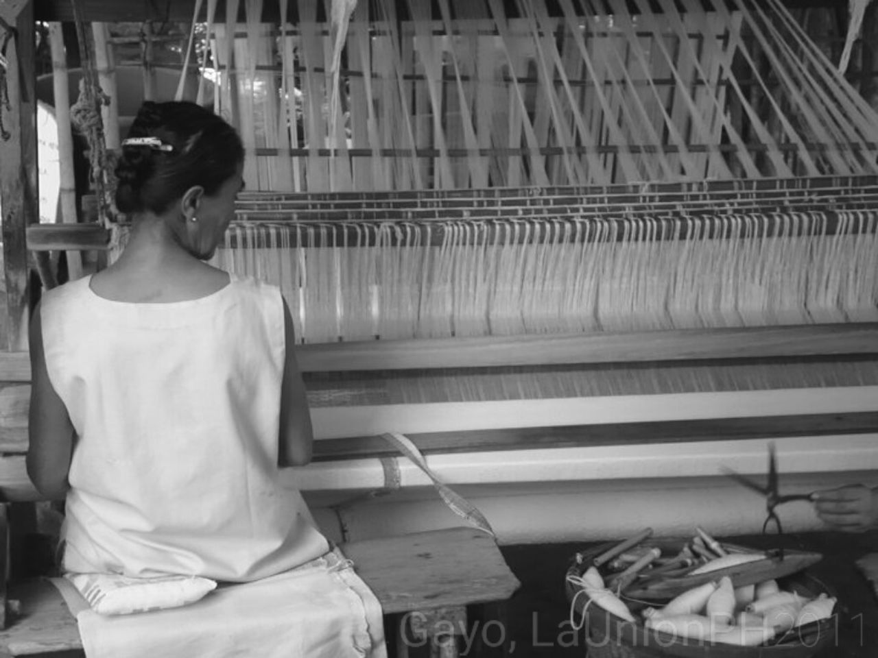 """Art and Talent"" a local making the ""inabel"" Culture Art Talent Weaving PureTalent  Inabel Bangar Pride Launion Philippines EyeEm Gallery Eyeemphotography Filipino EyeEm Eyeem Philippines Passion"