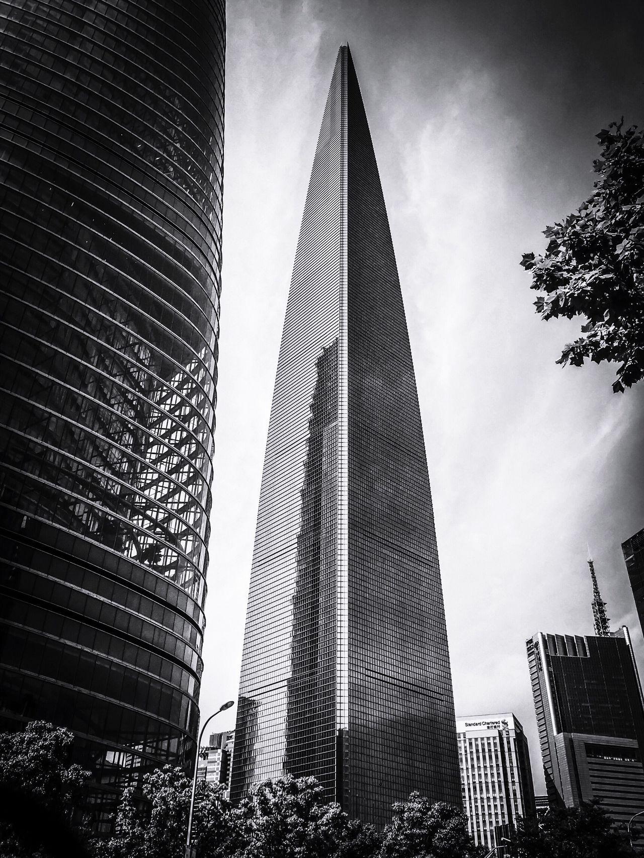 Shanghai World Financial Center Skyscraper Modern Architecture Built Structure Cityscape IPhone Shot Eyeem Market EyeEm Gallery