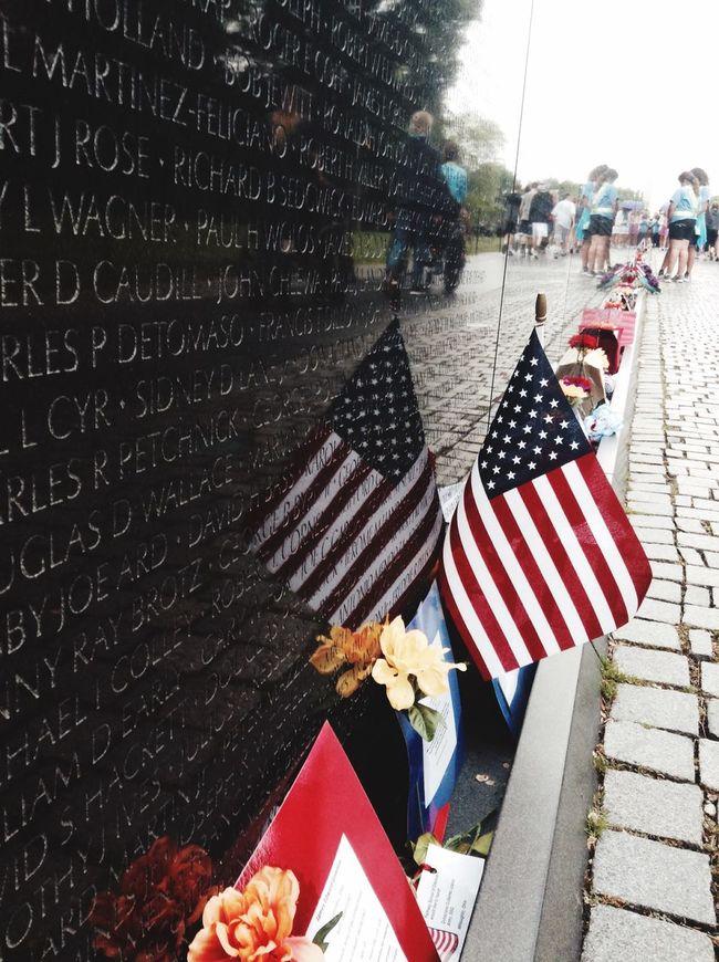 Vietnam War Memorial Washington, D. C. Found On The Roll