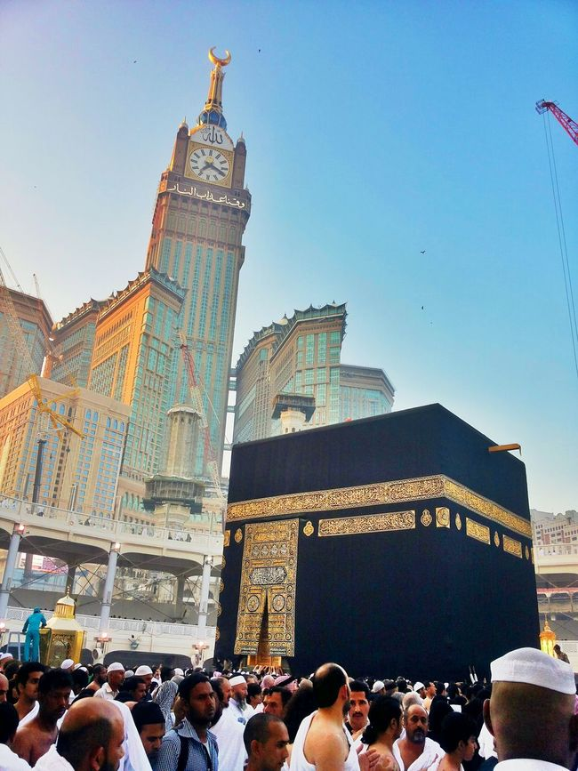 Nice Day Taking Photos Relaxing Makkah #muslim