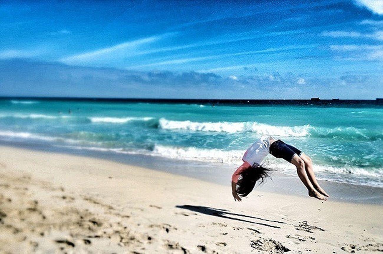 Tumblin' Gymnastics Tumbling Ocean