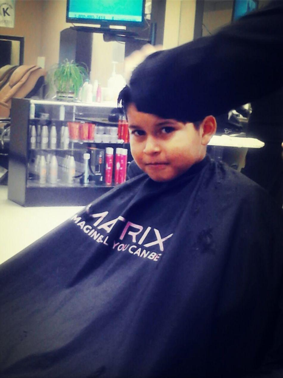 Getting A Hair Cut ^.^