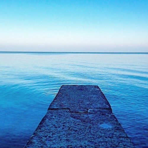 Sea Water Tranquil Scene Tranquility Nature Scenics Beauty In Nature Horizon Over Water No People Outdoors Day Clear Sky Blue Sky Groyne