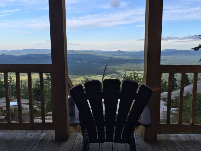 Mountain Chair Mountain Range Scenics Tranquil Scene Terrace Tranquility Cloud Outdoors