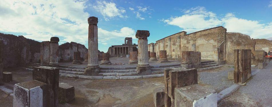 Beautiful stock photos of pompeii, Ancient, Architectural Column, Architecture, Broken