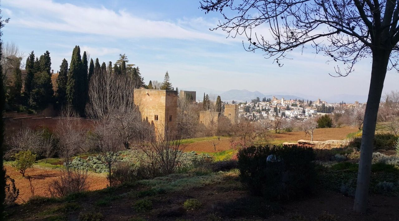 Amazing view from Alhambra @Granada, Spain Alhambra Granada SPAIN City Garden View Traveling