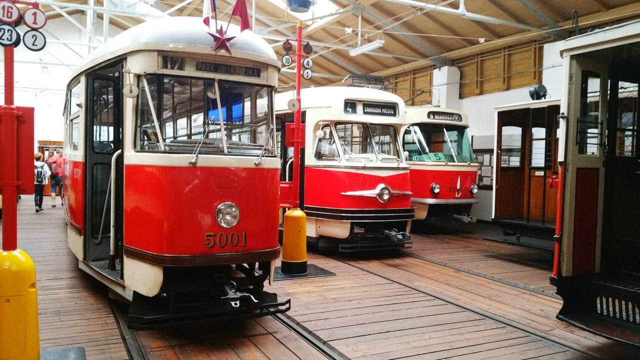 Old tram Public Transportation Prague's Tram Vehicle Photography Museum History