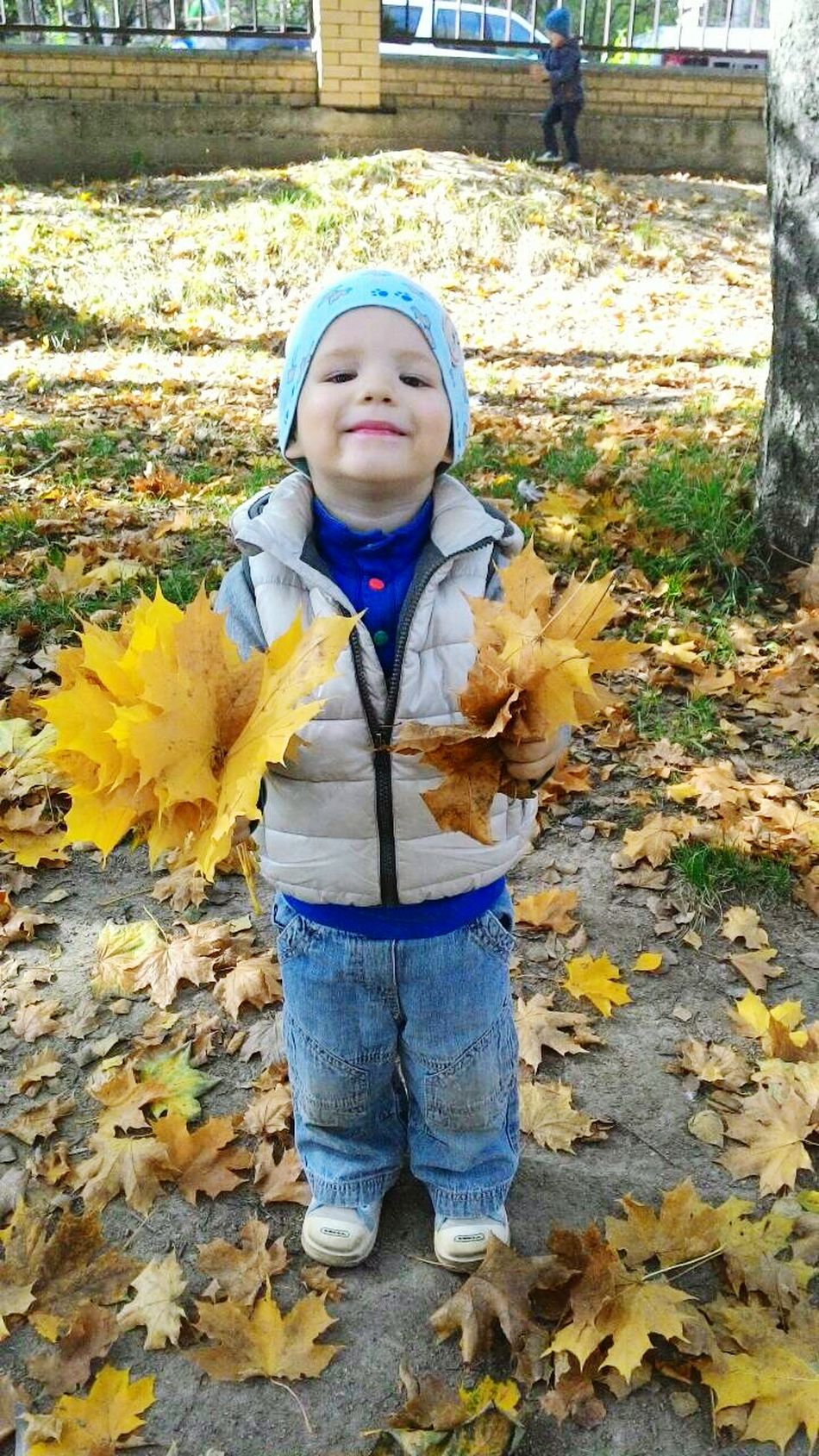 Fall Beauty sisters son :)