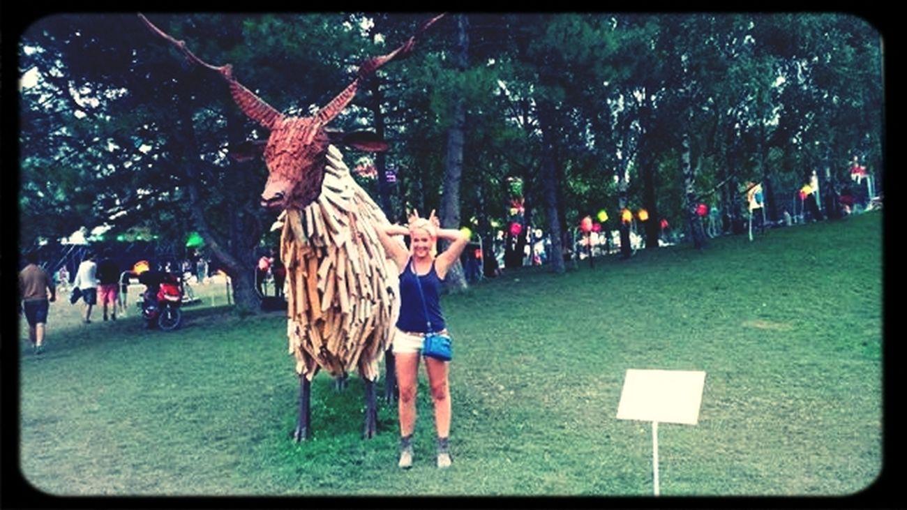 Horns Up Sziget2014 Fun Times ^_^