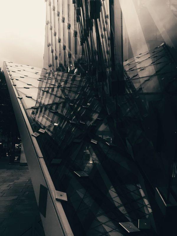 Architecture Urban Exploration Glass Windows Structuralphotography Reflections Buildings & Sky EyeEm Best Edits EyeEmBestPics Artistic Fresh On Eyeem  EyeEm Best Shots - Architecture The Week Of Eyeem Fine Art Photography Fine Art EyeEm Best Shots Streetphotography Darkness Tonal Street Photography