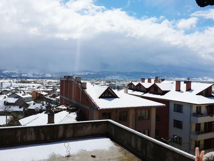 Snow falling.... First Eyeem Photo