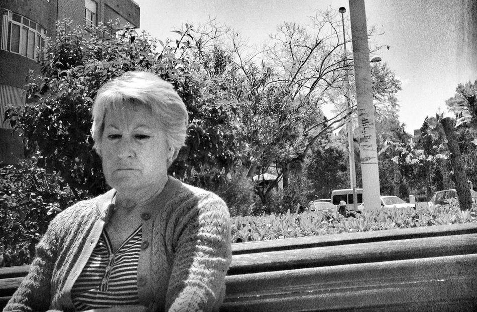 Streetphotography Blackandwhite Street Portrait Old Lady