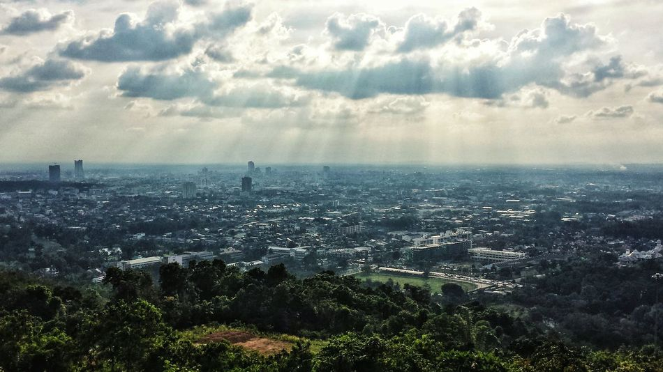 Showcase: January Mountain Southern Thailand Clouds Outdoors Southeast Asia ASIA Afternoon Cityscape Urban Downtown Songkhla Landscape Hat Yai Songkhla Province Spotted In Thailand A Bird's Eye View