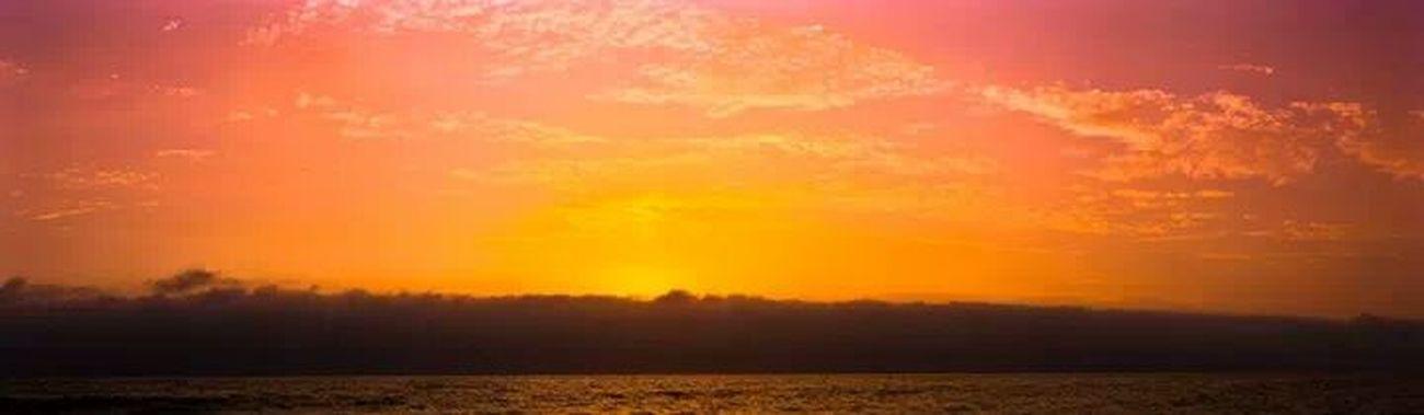 So peaceful! Sunset Summer Beach Lima