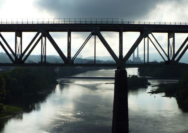 Arnold, Pennsylvania West Moreland County Allegheny River Allegheny River Cityscape City View  Dark Photography Before The Storm Travelphotography Outdoor Photography No Filters  River View Bridge Outdoors❤ A Bird's Eye View Feel The Journey Showcase June