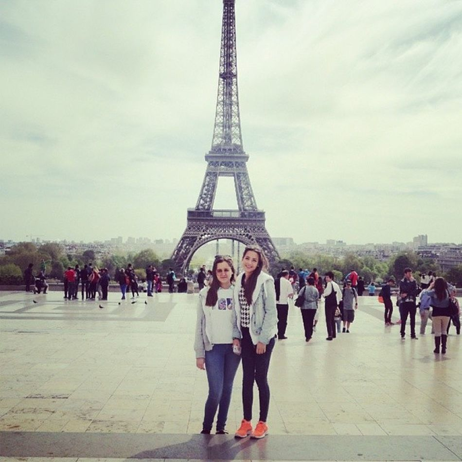 Parisinas ViajedeEstudios Paris Beibi Torreeifel
