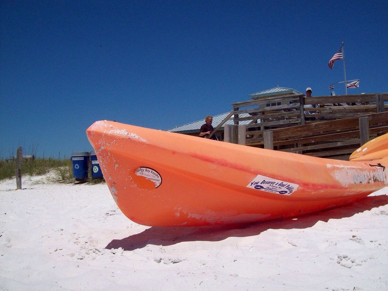 Florida sun ,honeymoon island , Canoes
