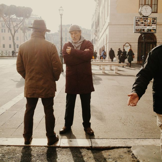 Roma, largo di Torre Argentina - xperia p People Streephotography Urban Exploration Colors