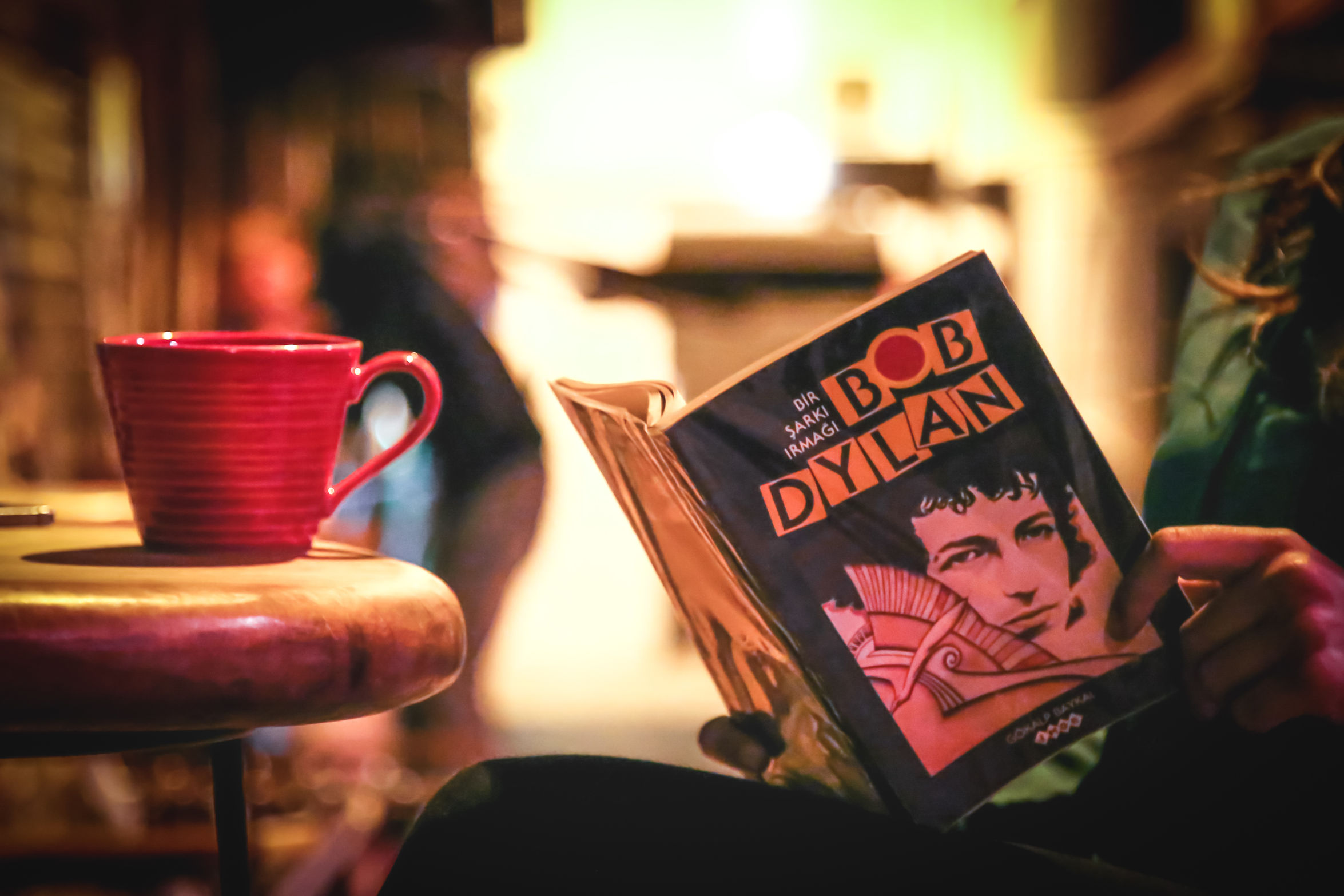 Relaxing times Close-up Coffee Filter Coffee Coffee Break Coffee Time Happy Hour Bar - Drink Establishment Eye4photography  Book Mug Bob Dylan Girl Coffeeandbooks