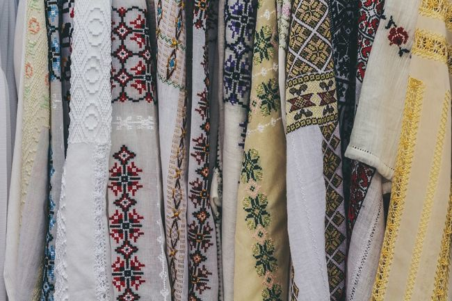 Traditional Clothing Traditional Culture Traditional Costumes Traditional Market Fashion Handmade Clothes Ornaments Moldova