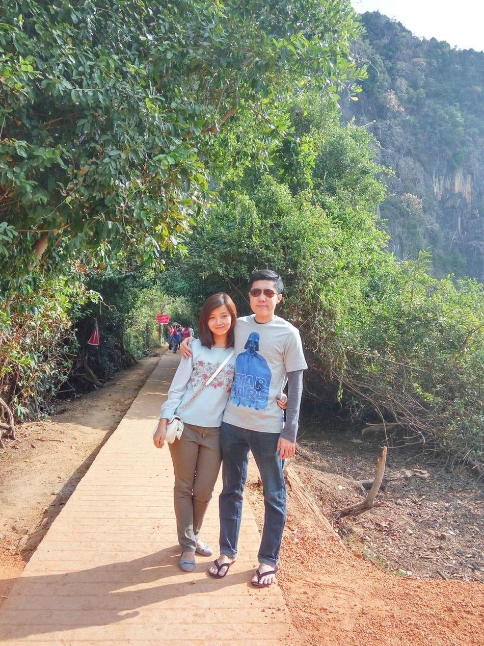 The two of us... Love Couple Mypanda Enjoying Life Travel Travel Photography Kayin State, Burma.