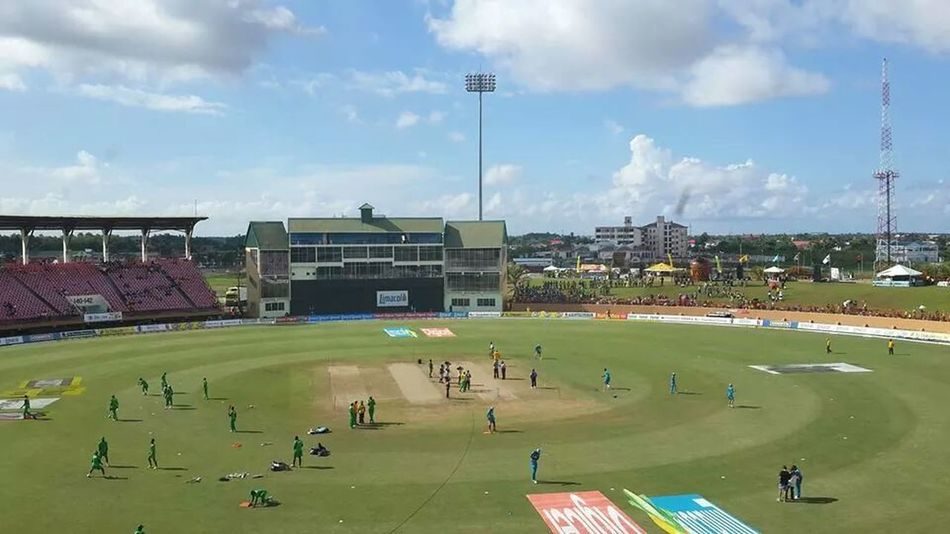 Sports Watching Cricket Cricket Eye Em Best Shots cricket at guyana national stadium