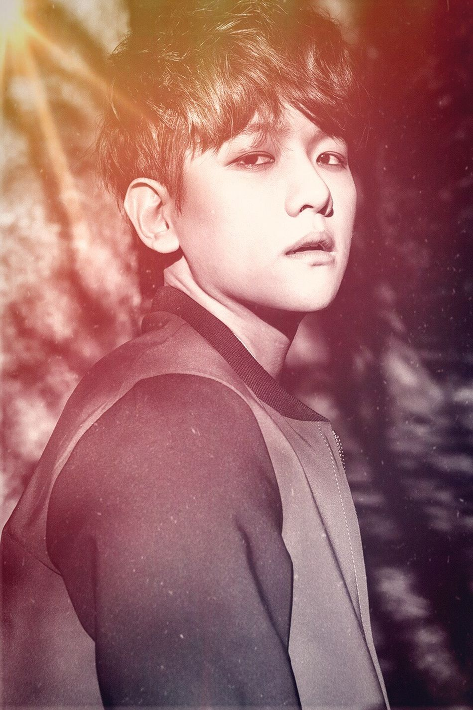 Baekhyun, my star❤️ Colors Colorful Art Fanart EXO Kpop Exok Backhyun Exol Exo-K