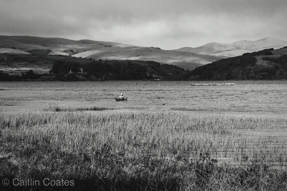 Peaceful Landscape Blackandwhite Nature Outdoors Lake Boat Relaxing Documentary Beautiful Peaceful Man Fishing Taking Photos From My Point Of View EyeEm Best Shots