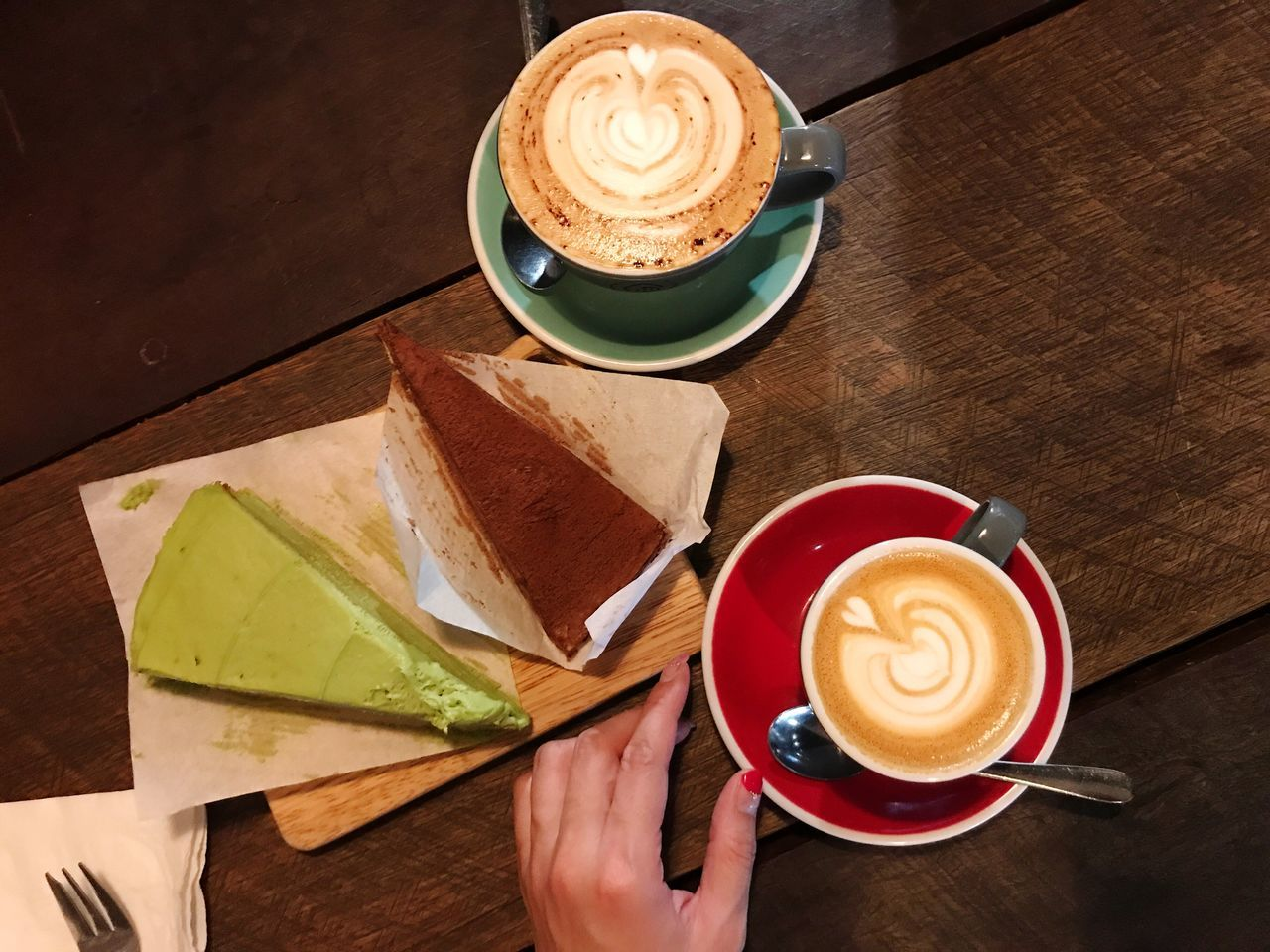 Crepe Cake & Coffee Time In My Mouf 😋