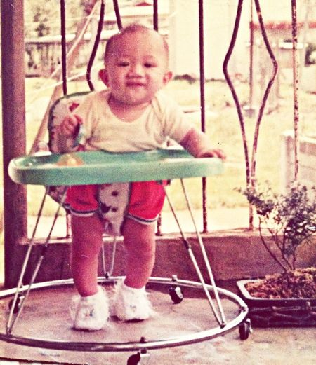 Me at 6 months old