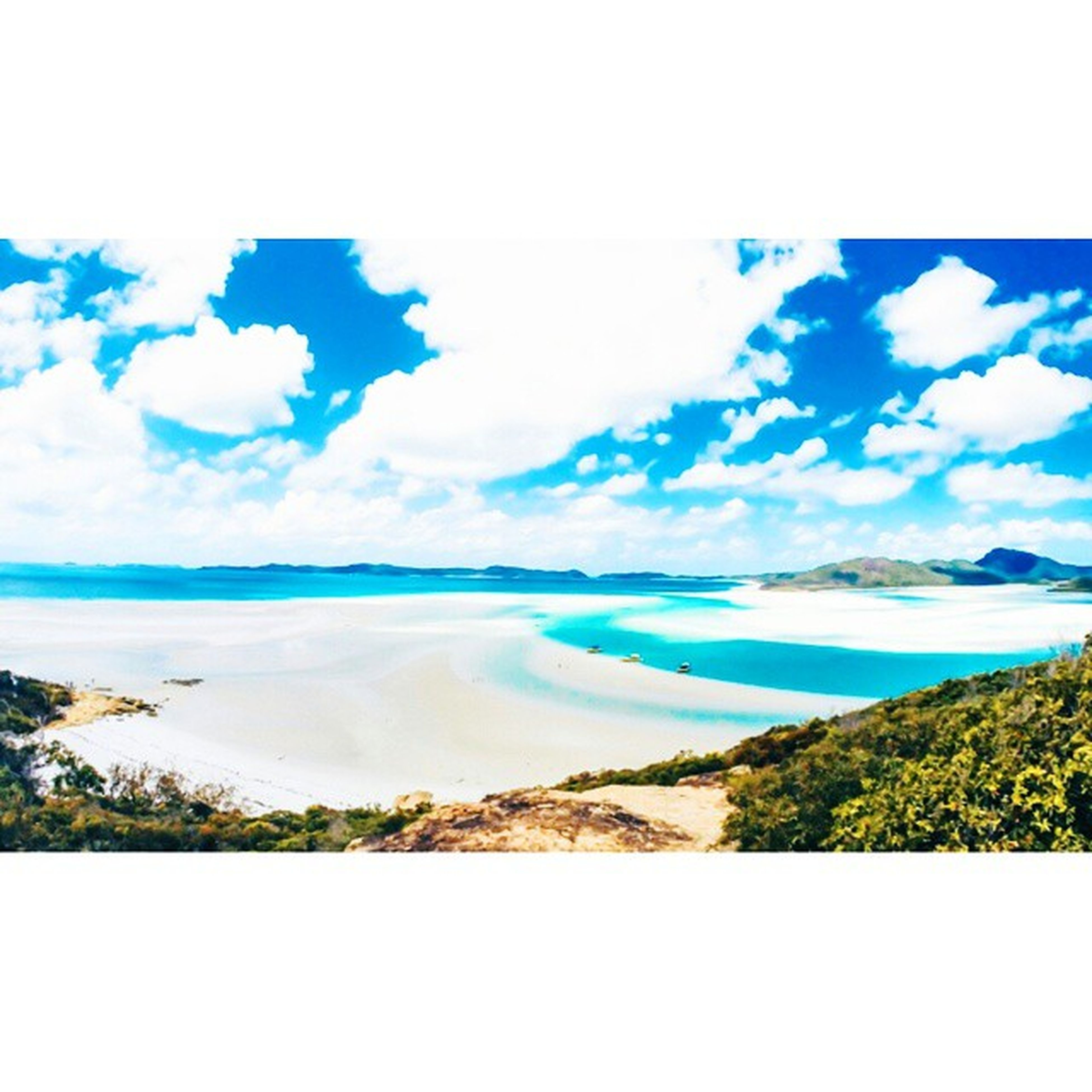 If only the sight of my feild camp could be this. Missing whitsundays Wheregottime Feildcamp NSF