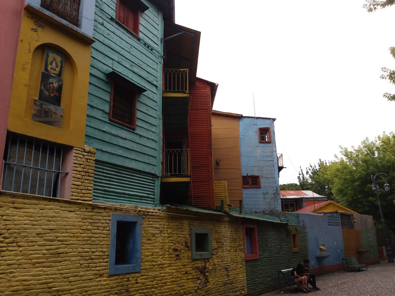 Caminito,La Boca,Buenos Aires,Argenti Architecture Building Exterior Art Point Of Interest Old Buildings Turistic Argentina La Boca Caminito House Architecture Colorful City Historic Old Tango Travel Destinations Street Carlos Gardel na