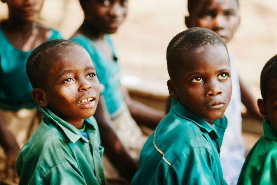 Beautiful stock photos of afrika, two people, boys, real people, looking at camera