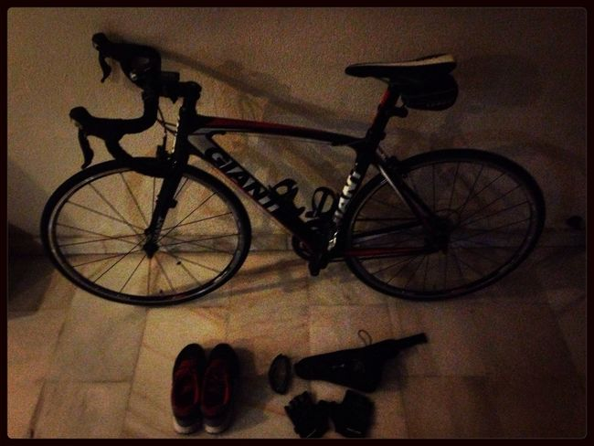 Time 530am - New Challenge Accepted! Cycling