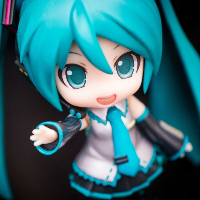 High five! Goodsmilecompany Toyphotography Nendoroid Figurephotography Nendophotography Animefigure Vocaloid HATSUNEMIKU Miku Goodsmilecompany