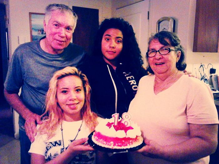 At The End Of The Day O Got To Spend My 18th Birthwith My Grandparent To :D