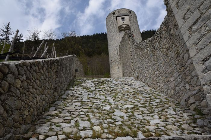 chiusa Rio pusteria Abandoned Ancient Architecture Architecture Built Structure Castle Day Door Drawbridge  Fortress History No People Old Old Buildings Outdoors Rock Ruines Ruins Sky South Tyrol Südtirol The Past Towers Travel Destinations Water