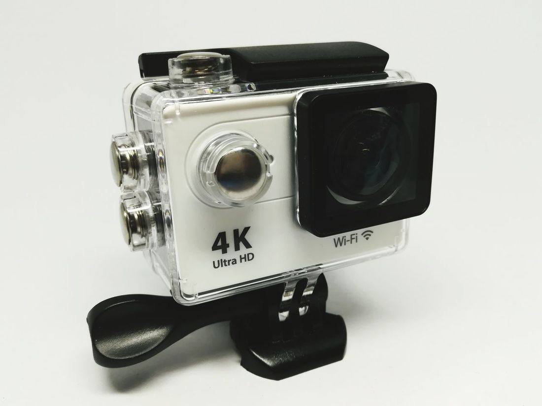 Photography Themesaction camera Camera - Photographic Equipment Studio Shot No People White Background Black Color Indoors  Old-fashioned Close-up Technology Day Outdoor Photography Outdoors Waterproof Camera Waterproof SJCAM H9r Gopro Shutter Ultrahd HD Video4k 4K 2k