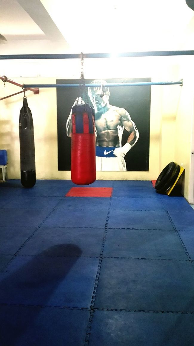 at the gym of the Filipino pride Mannypacquiao Manila, Philippines