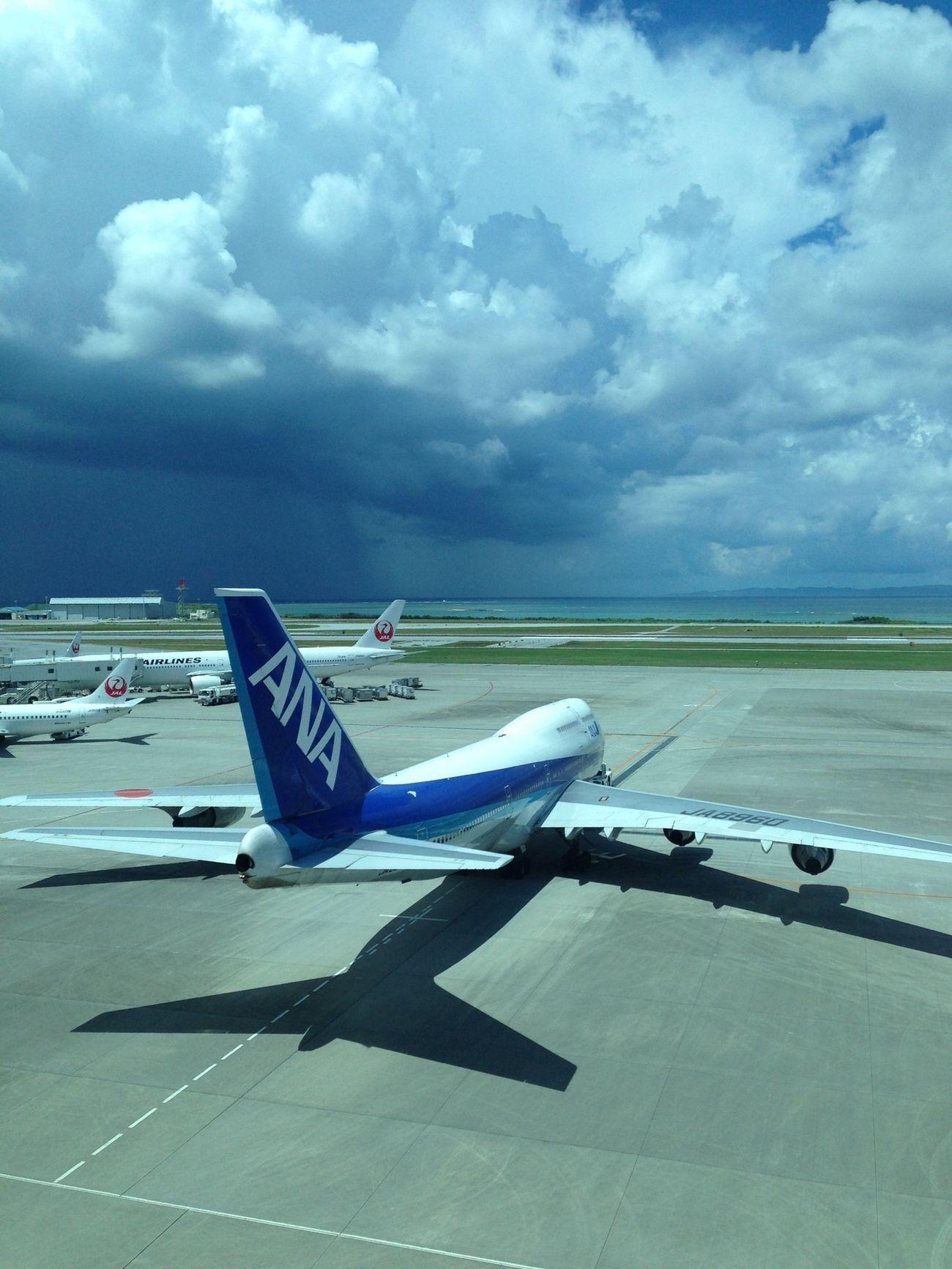 Airplane 空 さよなら…沖縄。