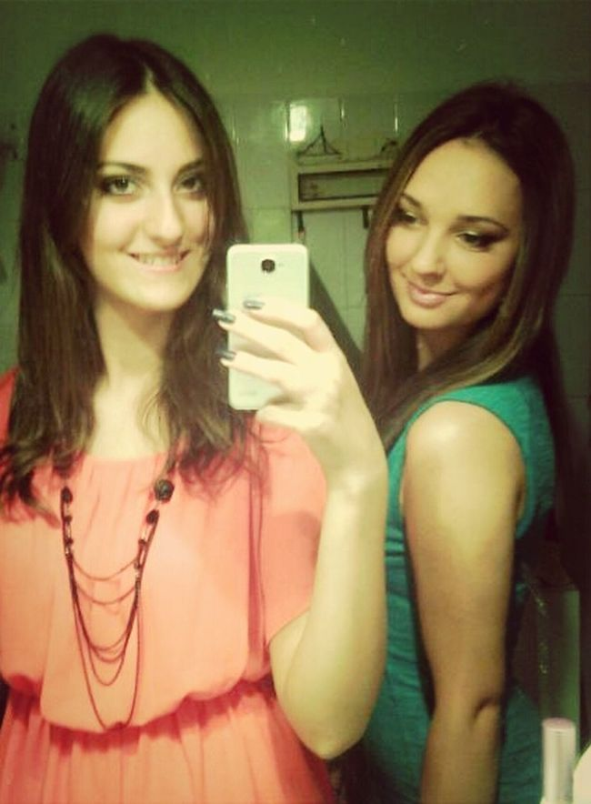 Last Night Getting Ready For Party Me And My Bestfriend ❤ Cute Girls